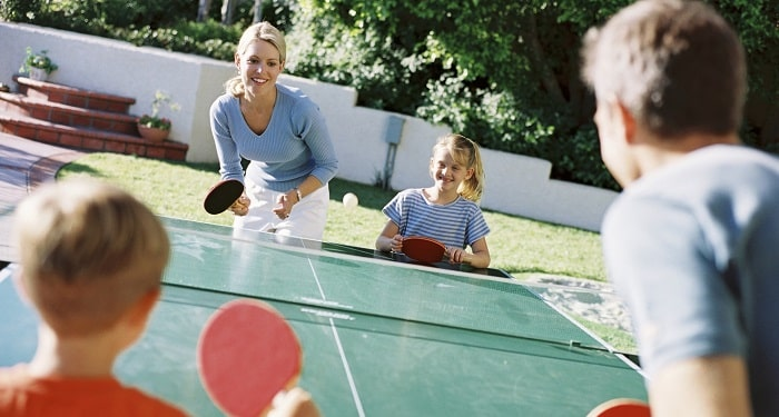Family Bonding and Ping Pong